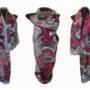 Ръчно рисуван копринен шал Панаир на суетата 200 – Копие