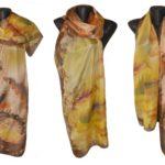 Ръчно рисуван копринен шал     Сахара      200